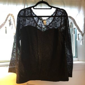 H&M Womens Lace Top. NWT. Size L